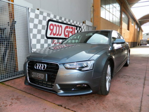 Audi A5 2.0 Tdi powered by 9000 Giri