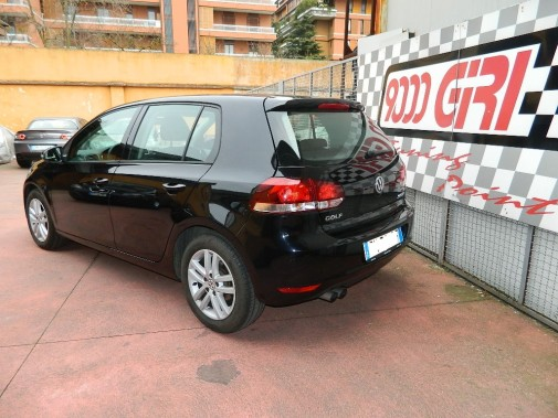 Vw Golf VI powered by 9000 Giri