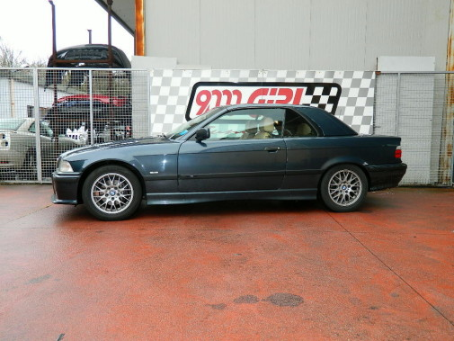 Bmw 320 cabrio e36 powered by 9000 Giri