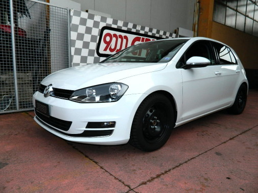 Golf VII powered by 9000 Giri