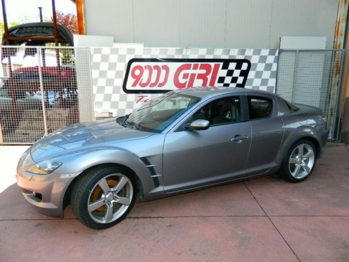 mazda rx 8 powered by 9000 giri