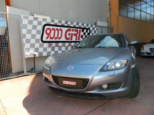 mazda rx8 powered by 9000 giri