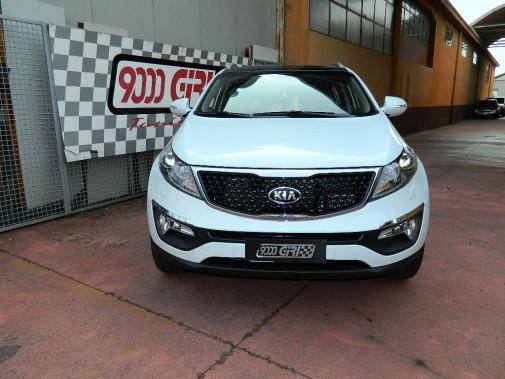 Kia Sportage powered by 9000 Giri