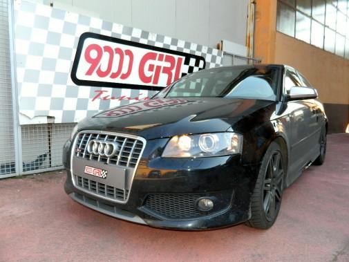 Audi S3 powered by 9000 Giri