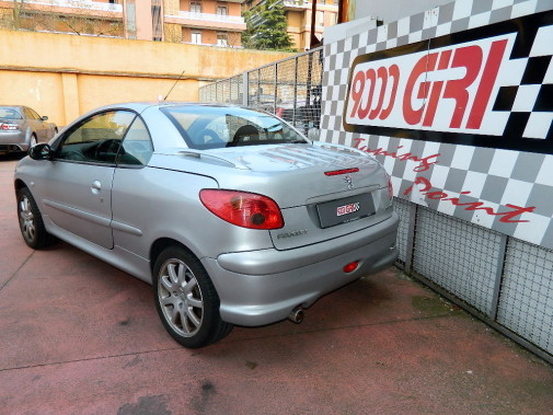 Peugeot 206 cabrio powered by 9000 Giri
