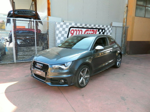 Audi A1 1.4 tsi powered by 9000 Giri