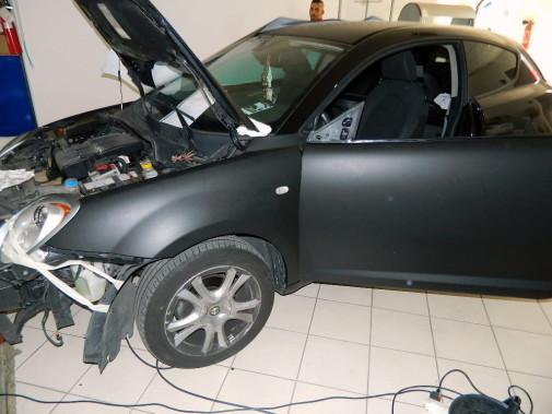 Alfa Romeo Mito by 9000 Giri in fase di lavorazione