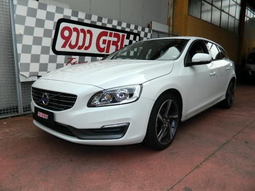 Volvo V60 powered by 9000 Giri
