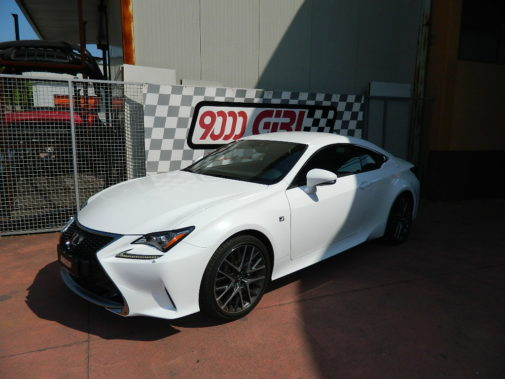 lexus rc powered by 9000 giri (2)