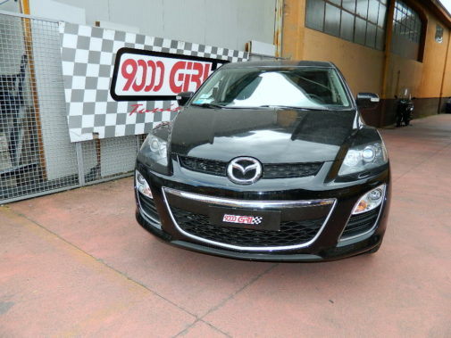 mazda cx7 2.2 cdi powered by 9000 Giri