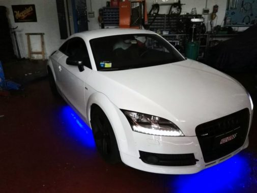 Audi TT powered by 9000 Giri
