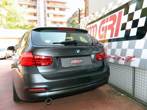 Bmw 318d F30 powered by 9000 Giri