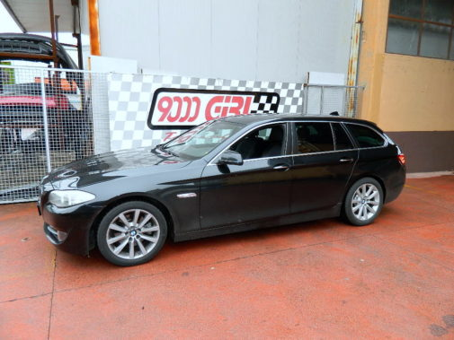 Bmw 520d powered by 9000 giri