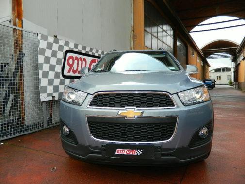 Chevrolet Captiva powered by 9000 Giri