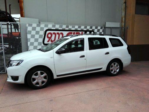 Dacia Logan Mcv powered by 9000 Giri