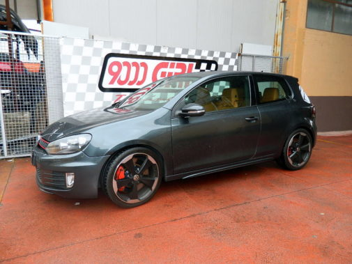 Golf 7 Gti powered by 9000 Giri