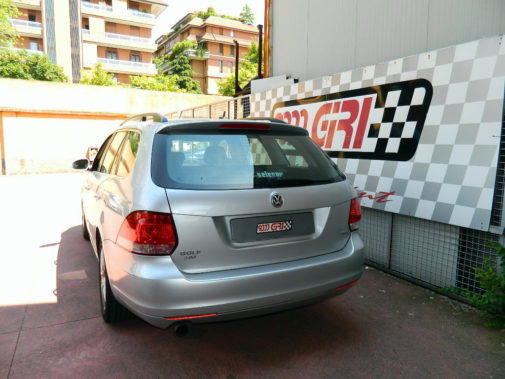 Golf VI variant 1.6 tdi powered by 9000 Giri