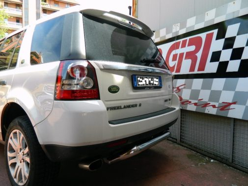 Land Rover Freelander II powered by 9000 Giri