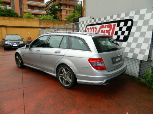 Mercedes classe C220 cdi powered by 9000 Giri