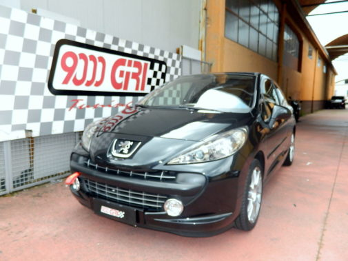Peugeot 207 1.6 powered by 9000 Giri