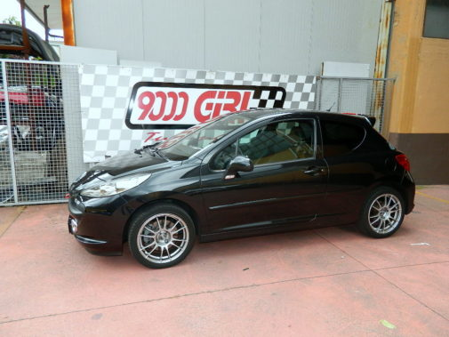 Peugeot 207 1.6 powered by 9000 Giri