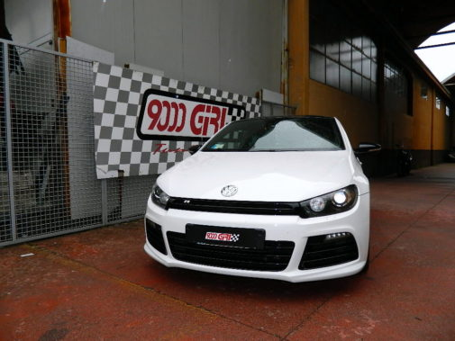 Scirocco R powered by 9000 Giri