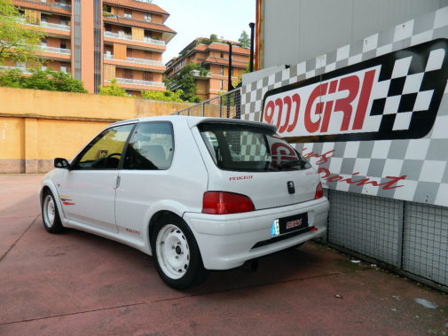 peugeot 106 rally powered by 9000 giri