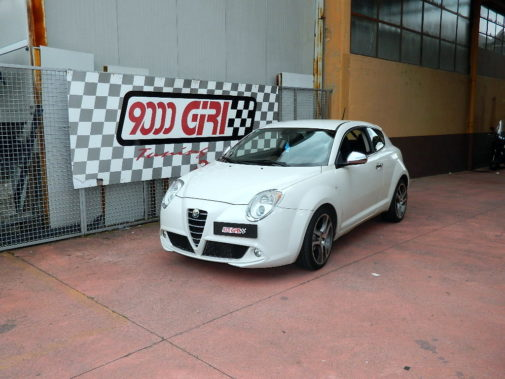 Alfa Mito 1.4 t-jet powered by 9000 Giri