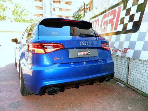 Audi Rs3 powered by 9000 Giri