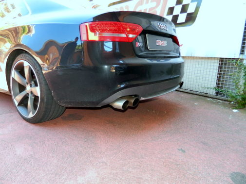 Audi S5 powered by 9000 Giri
