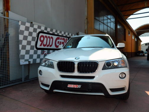 Bmw X3 2.0 tdi F25 powered by 9000 Giri