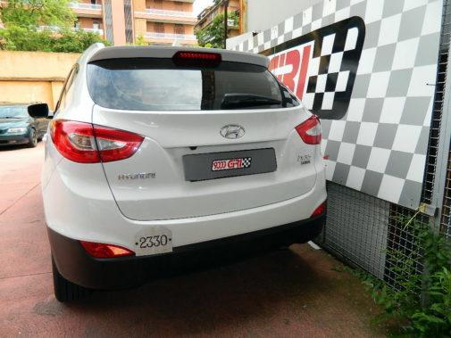 Hyundai Ix 35 powered by 9000 Giri