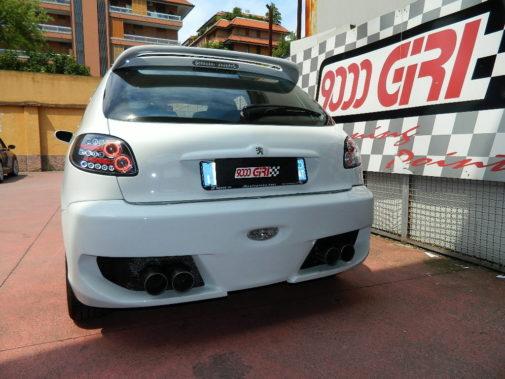 Peugeot 206 gti powered by 9000 Giri