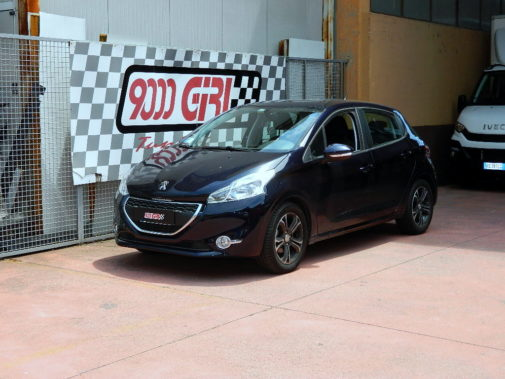 Peugeot 208 1.4 hdi powered by 9000 Giri