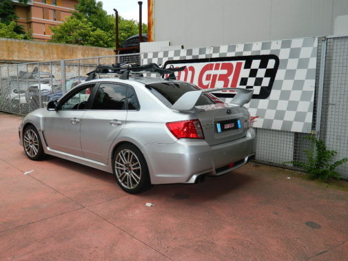 Subaru Impreza Sti powered by 9000 Giri