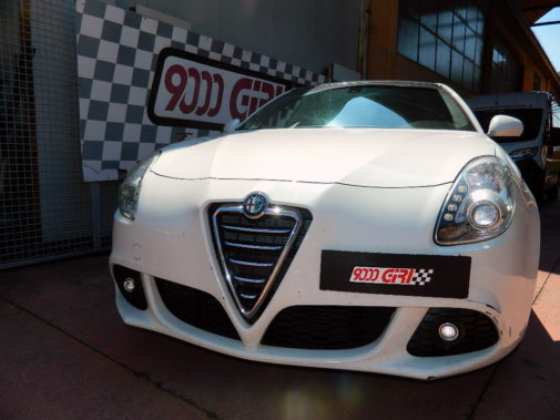 Alfa Giulietta 1.4 tb powered by 9000 Giri