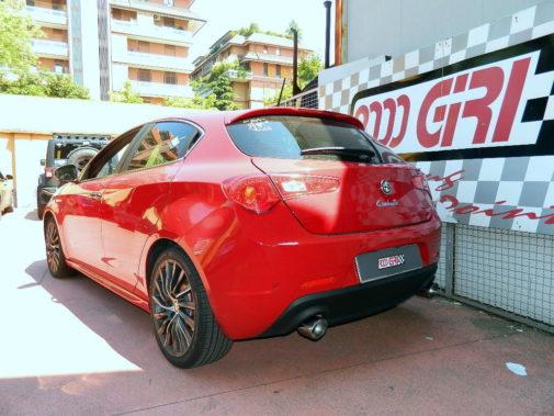 Alfa Giulietta 1750 tb powered by 9000 Giri