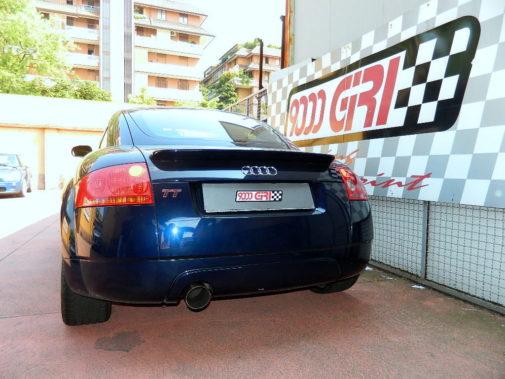 Audi TT 1.8 turbo powered by 9000 Giri
