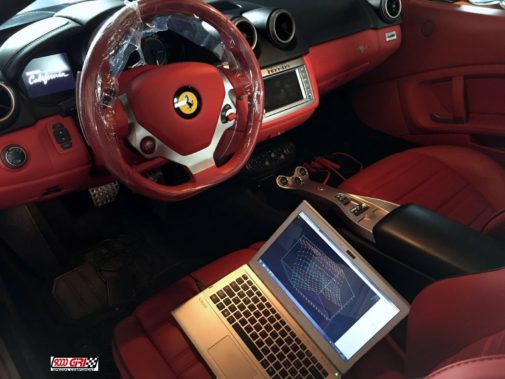 Ferrari California powered by 9000 Giri