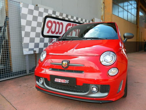 Fiat 500 695 Competizione powered by 9000 Giri