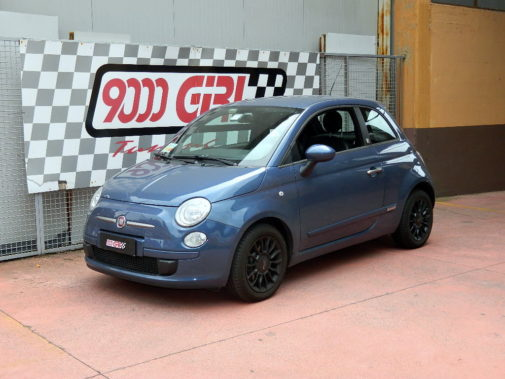 Fiat 500 Twinair powered by 9000 Giri
