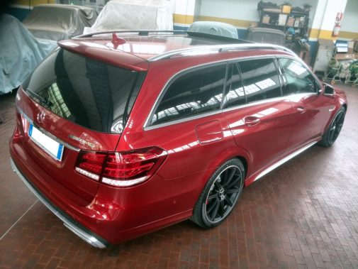 Mercedes classe E 63amg powered by 9000 Giri