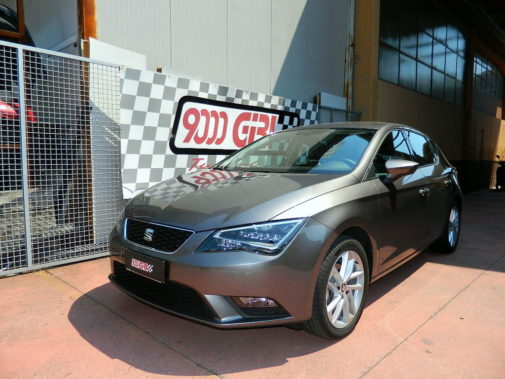 Seat Leon 1.6 tdi powered by 9000 Giri