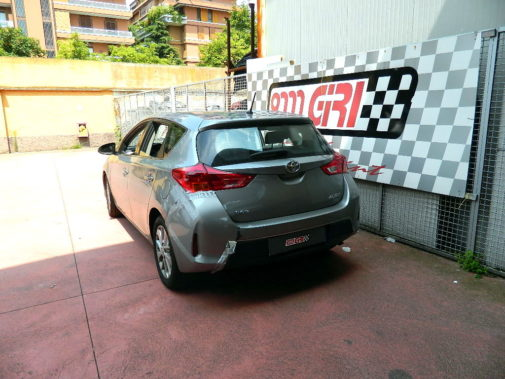 Toyota Auris powered by 9000 Giri