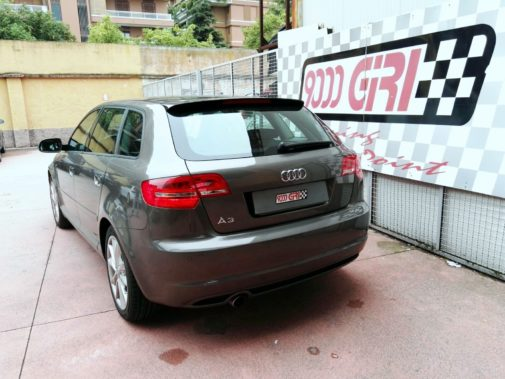 Audi A3 2.0 tdi powered by 9000 Giri