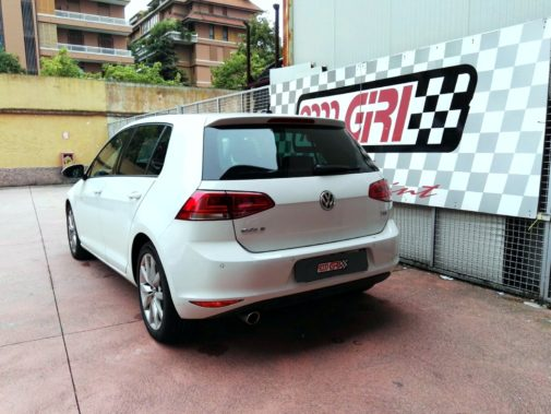 Golf VII 1.6 tdi 105 cv powered by 9000 Giri