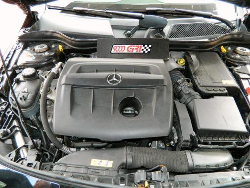 Mercedes Cla 180 cdi powered by 9000 Giri