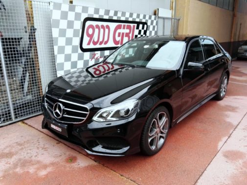 Mercedes E 220 cdi powered by 9000 Giri