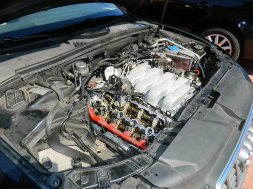 Audi S5 powered by 9000 Giri
