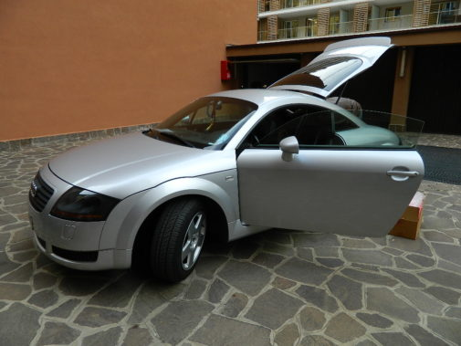 Audi TT 1.8 T powered by 9000 Giri